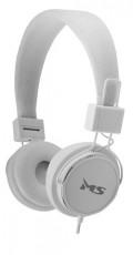 MS BEAT bijele slušalice s mikrofonom