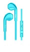MS SHAKE plave in-ear slušalice s mikrofonom